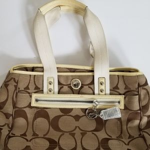 Coach Handbag Signature